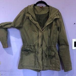 H&M utility jacket size 14